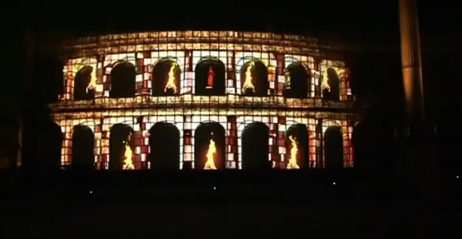 Hotpoint_Projection_Mapping_Cinecittà_Rome