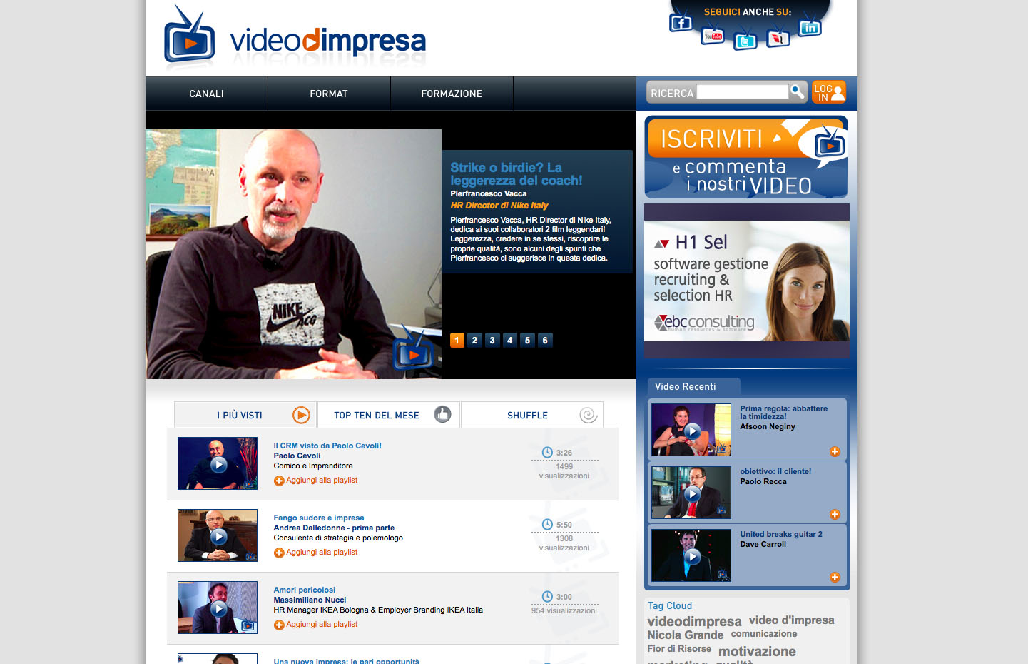 Videodimpresa_portale_web2.0_marketing