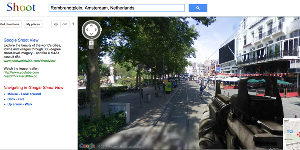 google-shoot-view