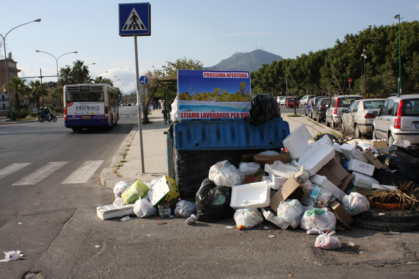 Let's Keep Clean The Street & Save Palermo