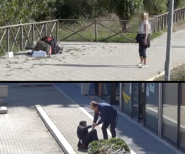 Homeless-Vs-Businessman