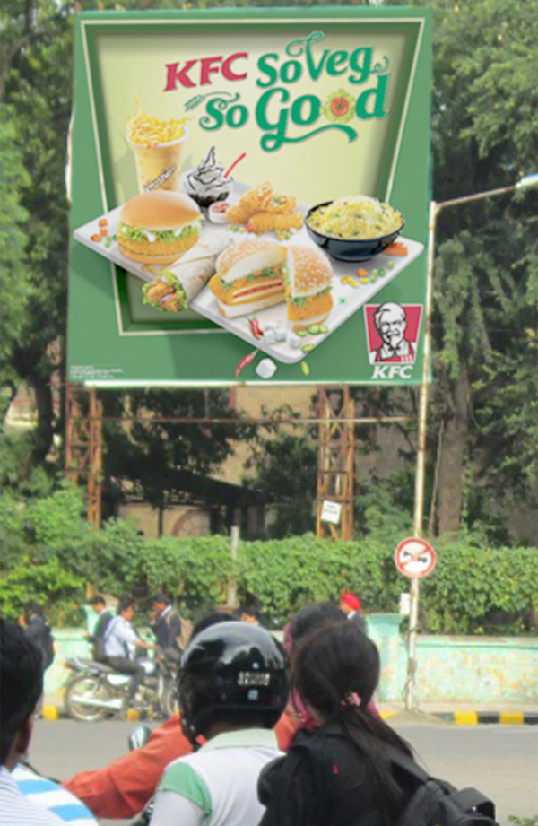 KFC Serves Out It's Veg Menu