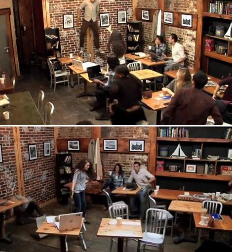 Carrie - Telekinetic Coffee Shop Surprise