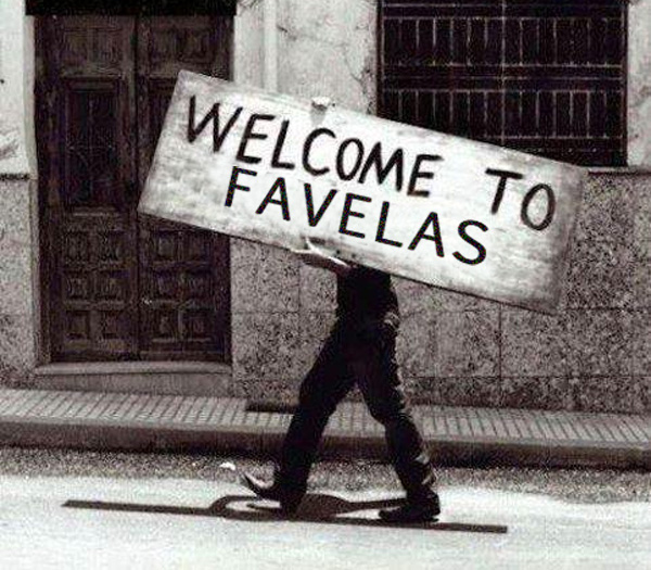 We All Live in Favelas - Facebook Page against Urban Blight
