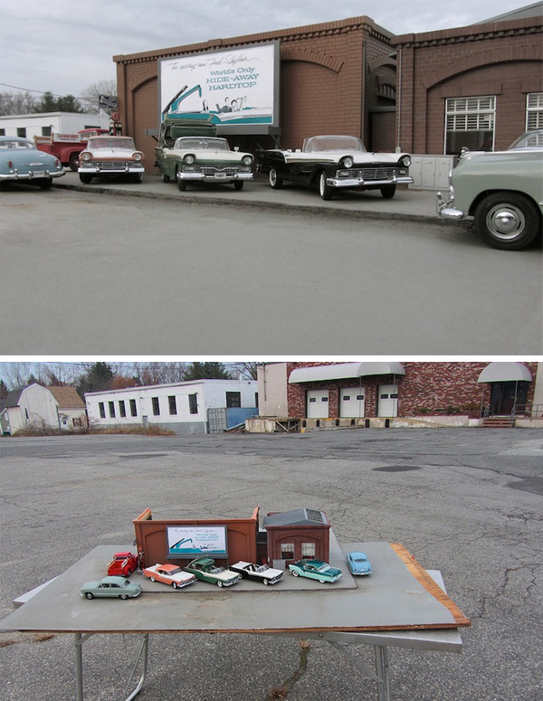 Forced Perspectives & Model Cars - Impressive project by Michael Paul Smith