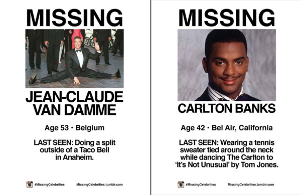 MissingCelebrities