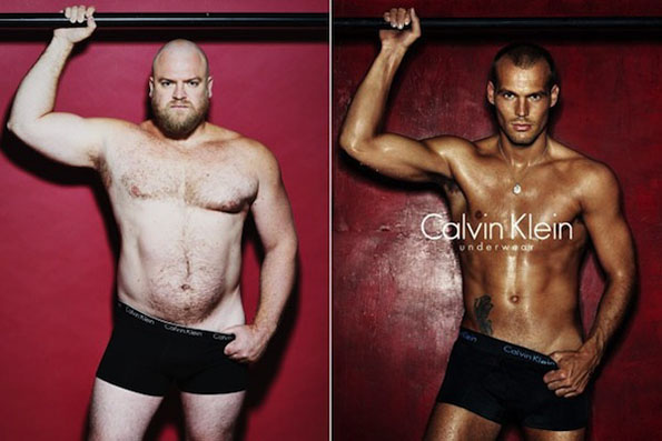 Real Men In Underwear Ads