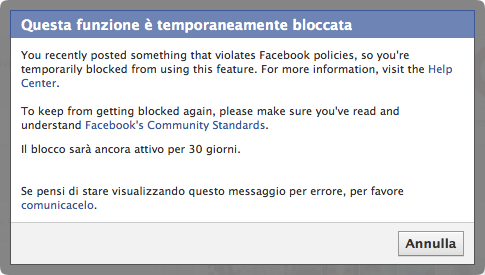 Facebook Blocked Me for Salvador Dalì Performance