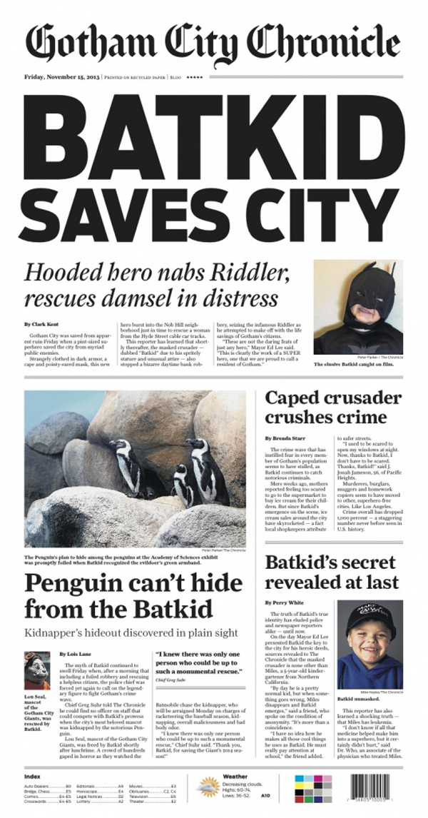 BatKid Saves The City - A Day against Leukemia