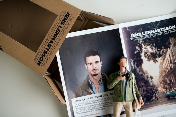 Photographer Self-Promotes by Mailing Out 400 Action Figures of Himself