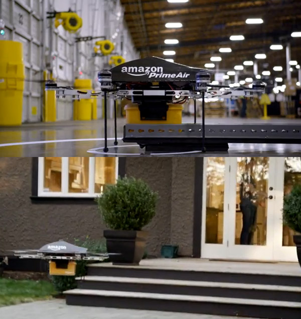 Amazon Prime Air - Home delivery in 30 minutes