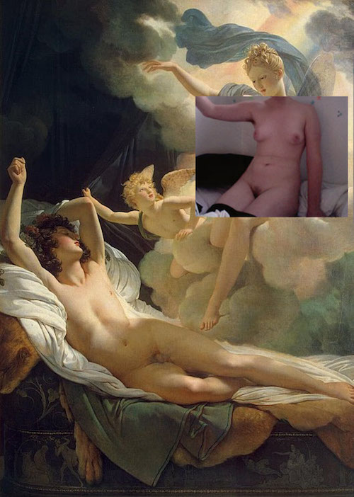 Camgirlproject – Historical Nude Paintings with Camgirls