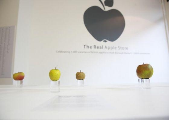 The Real Apple Store – Celebrating London's Borough Market