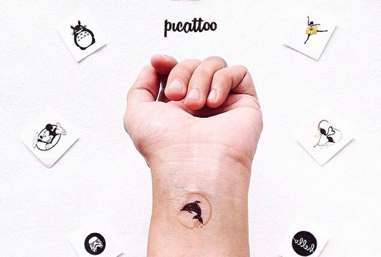 Welcome Picattoo – Turn your Instagram pictures into temporary tattoos