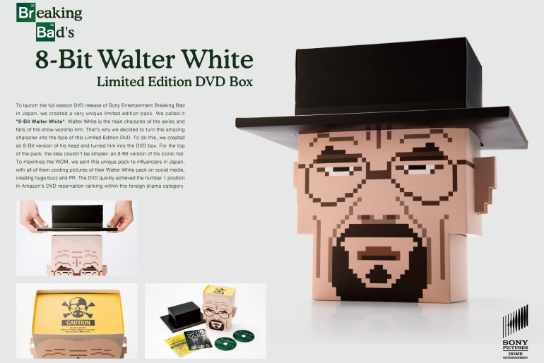 Breaking Bad: 8-Bit Walter White – Direct Marketing