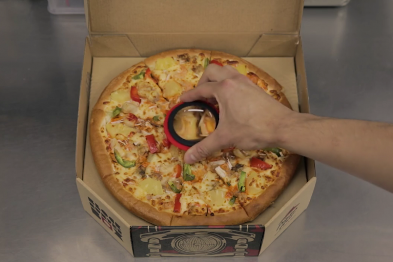 Pizza Box That Projects Short Films – Creative & Interactive packaging by Pizza Hut & Blockbuster