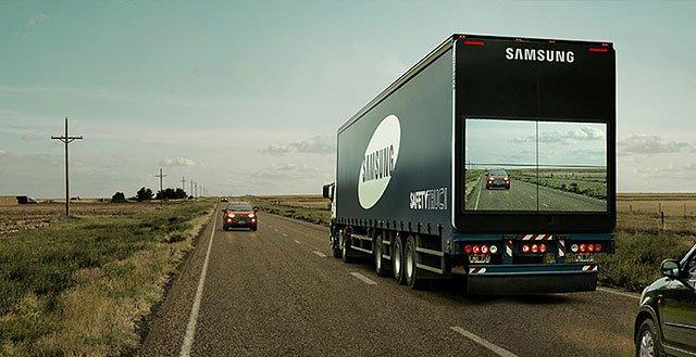 Samsung Safety Truck – Brilliant Guerrilla Marketing Campaign