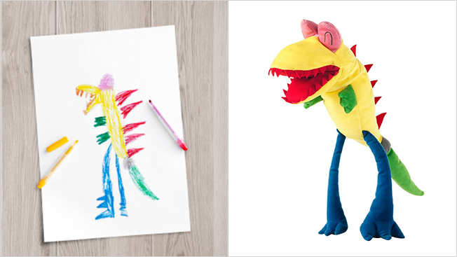 Turns Kids' Drawings into Real Toys – Ikea Promotes Children's Education