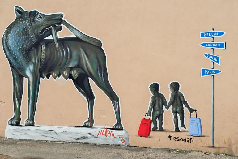 Happy Birthday Roma – 2769 candeline al Macro con la Street Art di Maupal