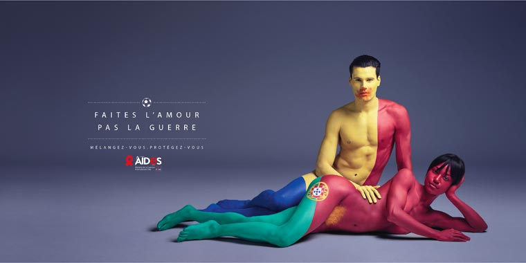 Make love, Not war – A Brilliant Aides campaign against AIDS
