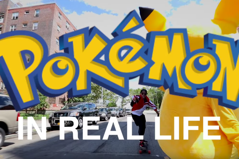 Pokémon Go IN REAL LIFE – Viral