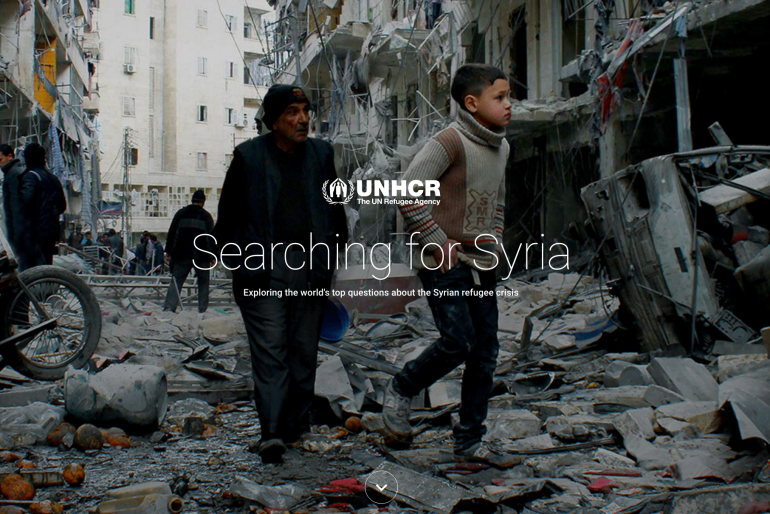 Searching for Syria – Google and UNHCR offer answers to five top questions