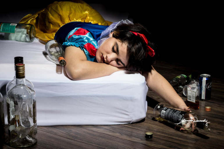Disney Princesses And Real World Problems – Powerful Photo By Shannon Dermody