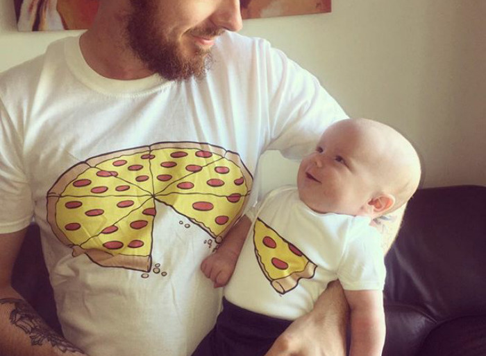 Creative Collection of Genius T-shirt Images of Parents and Sons