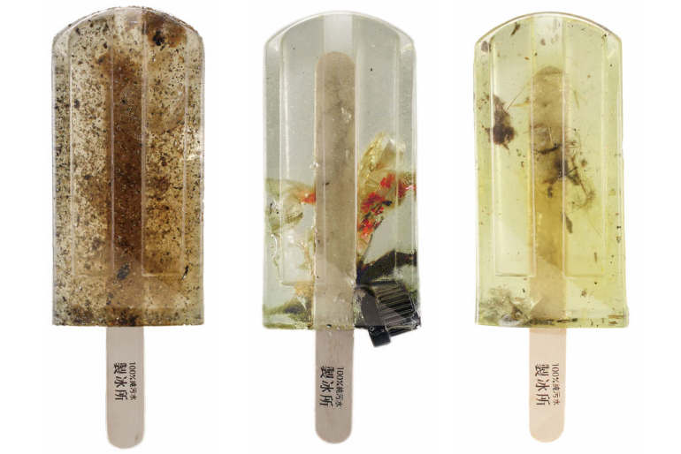 The Polluted Water Popsicles – The social Project
