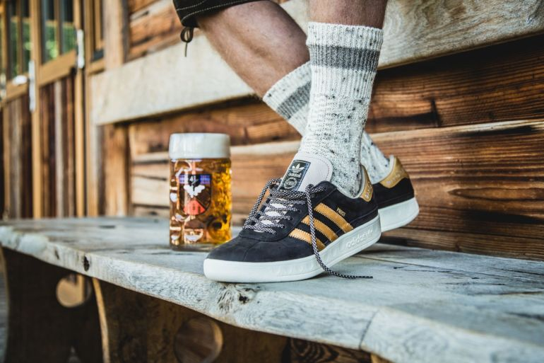 New Adidas Shoes made to repel beer and vomit during Oktoberfest – Adidas DPBR