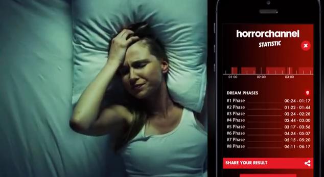 Horror Channel's Night Terror App