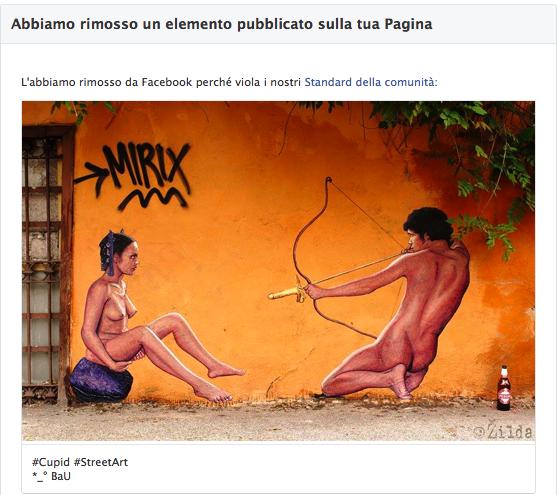 Celebrating Pasolini - Facebook banned me for Street Art
