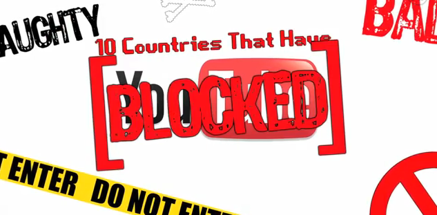 10 Countries That Have Blocked YouTube