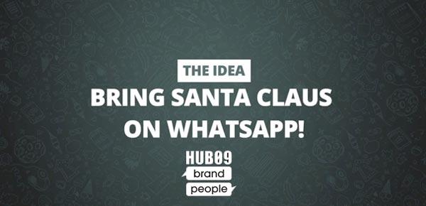 Santa Claus on WhatsApp - Case History