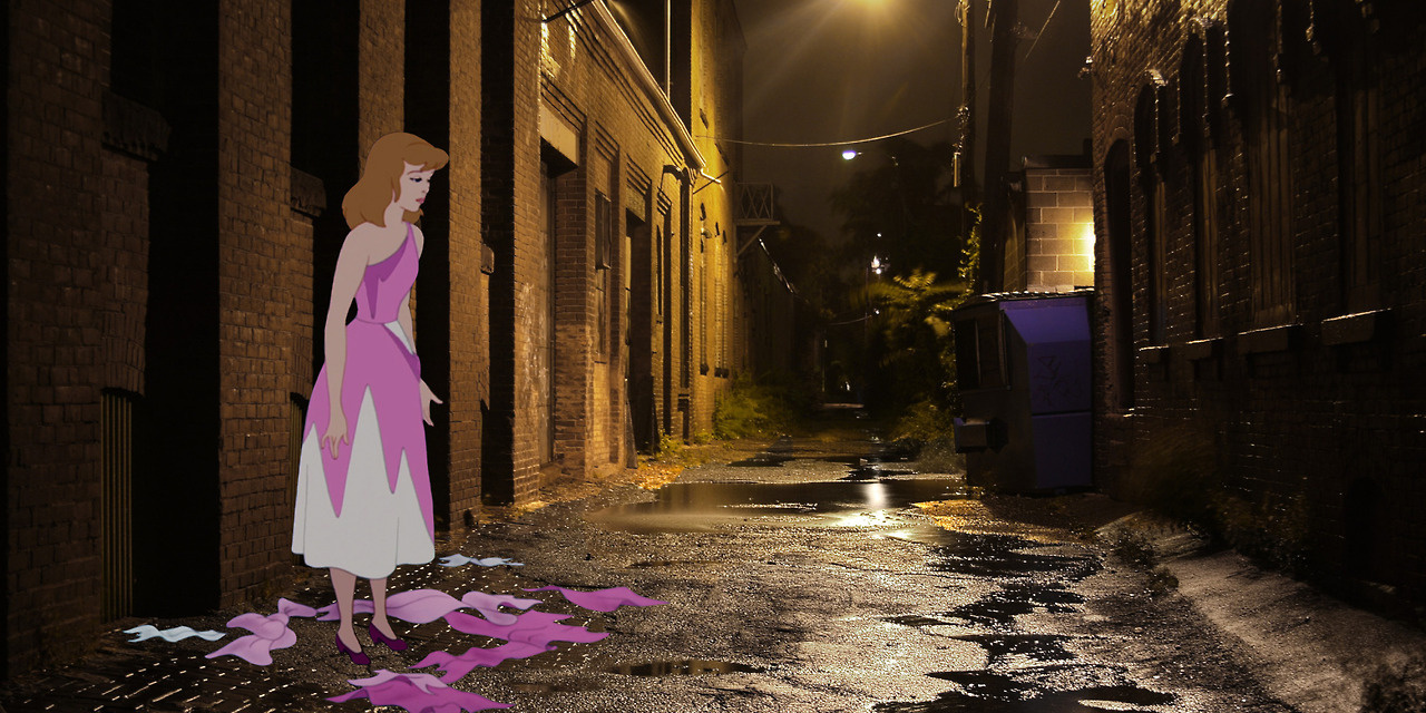 """""""Unhappily Ever After"""" - Disney Heroes in The Horrors Of Real Life"""