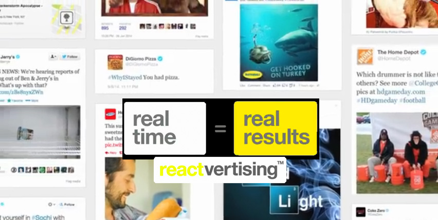 Reactvertising: The New Real-Time Advertising Agencies