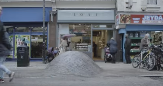 The Lump | Guerrilla Marketing by Cancer Research UK