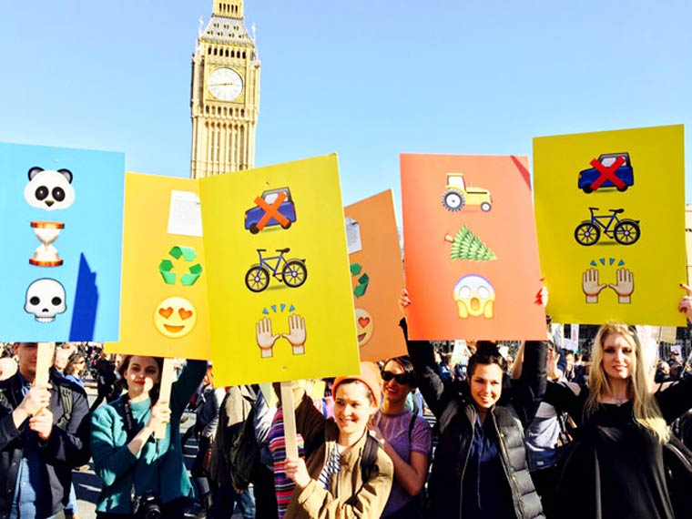 Earthmojis – Protest with Emoticons for the World
