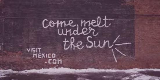 Snow Graffiti – Cool Street Marketing Campaign in Chicago