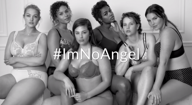 "#ImNoAngel ""ALL women are sexy""  – A provocative Campaign against Victoria's Secret"