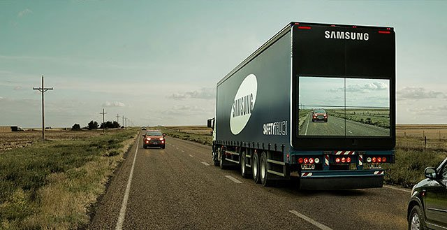 Samsung Safety Truck – Brilliant Guerrilla Marketing Campaign
