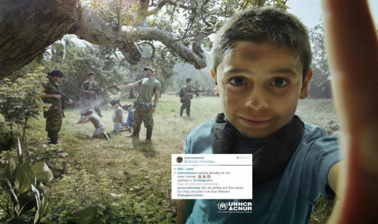 Unpleasant Selfies – Social Campaign to Help Refugees by UNHCR