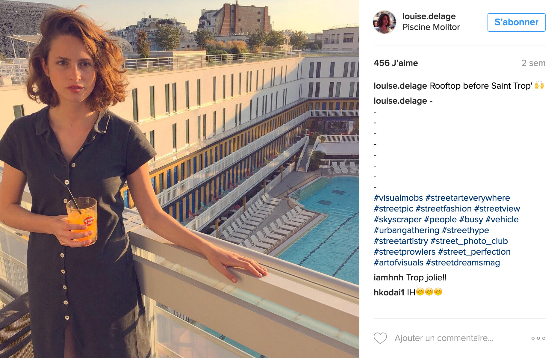 Who Is Louise Delage? – The Instagram Campaign by Addict Aide