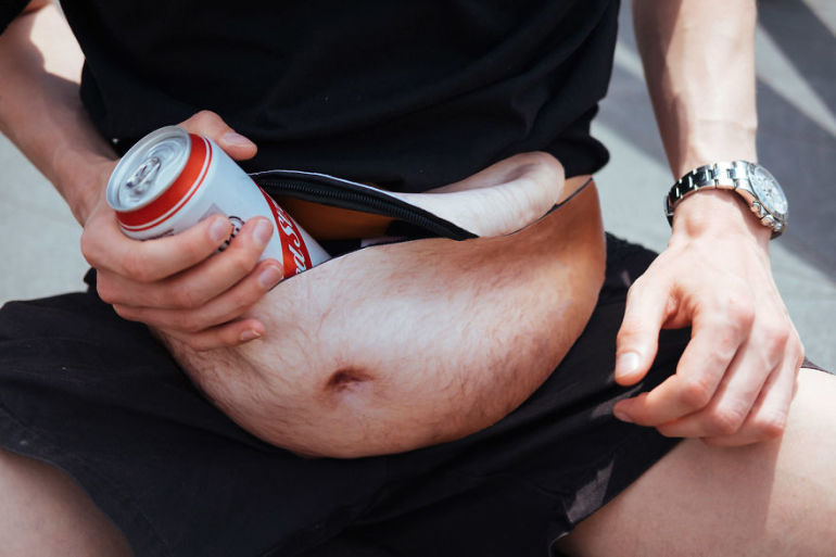 Dadbag – A funny Dad bod bum bag that Gives You the Dad Bod That You've Always Wanted