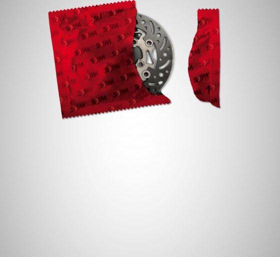 SYM:SanYang Motor – Creative Condom Print