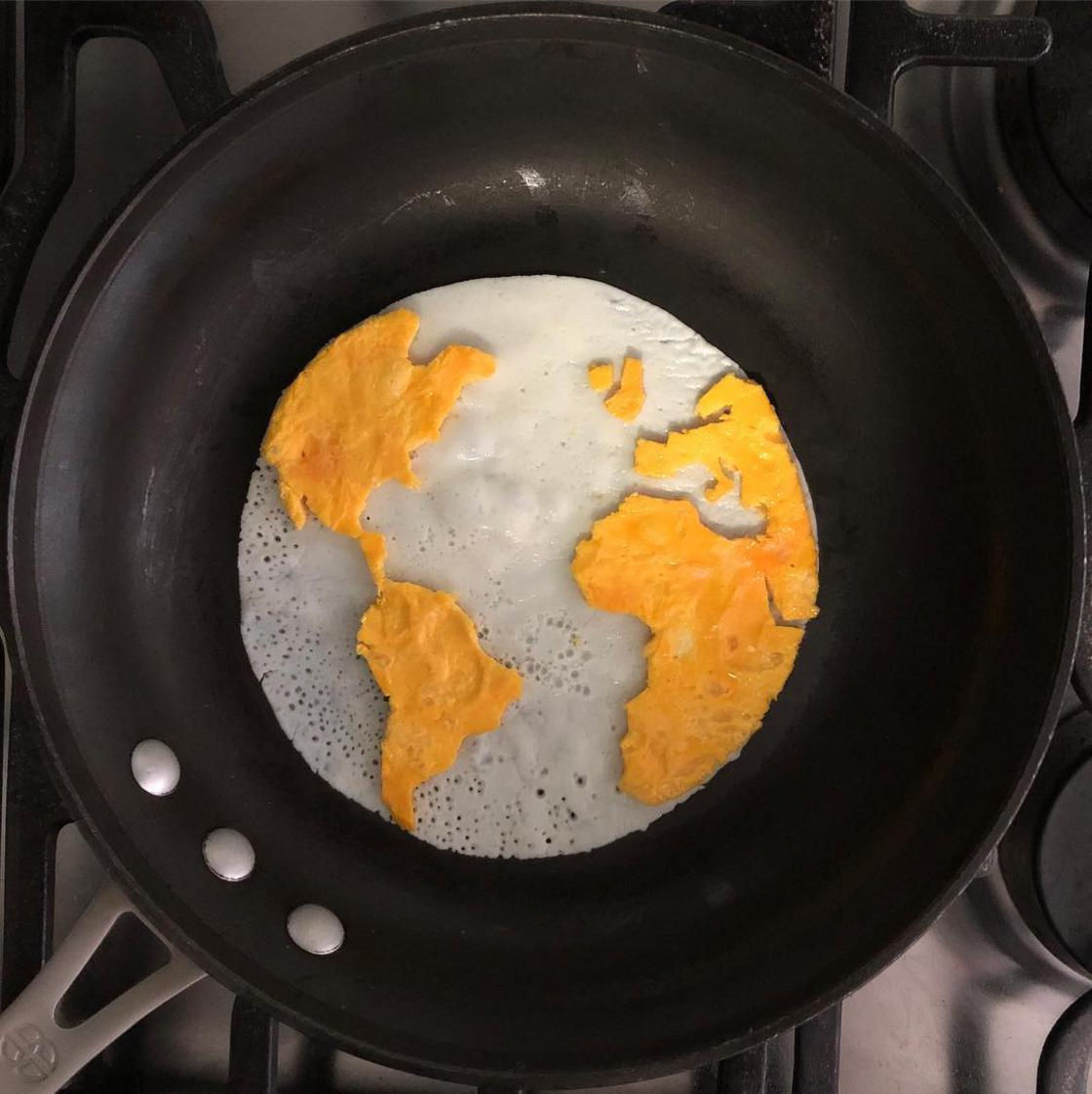 Art of Breakfast – How to turns Eggs to Art