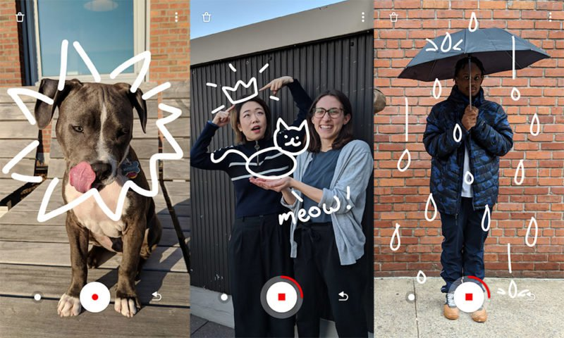 Google Just A Line – Make simple drawings in AR