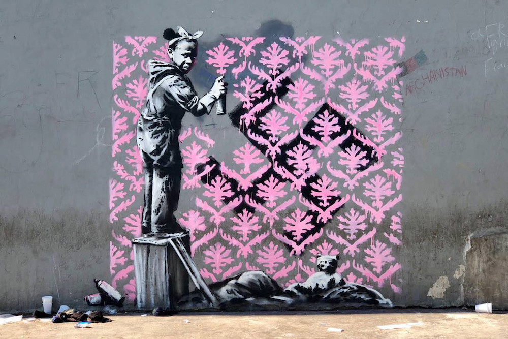Taking aim at refugee crisis – New Banksy Pieces in Paris